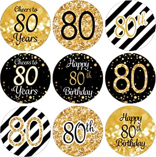 Best 80th birthday stickers Reviews