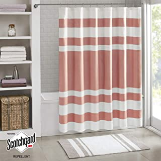 Best coral and white striped fabric Reviews