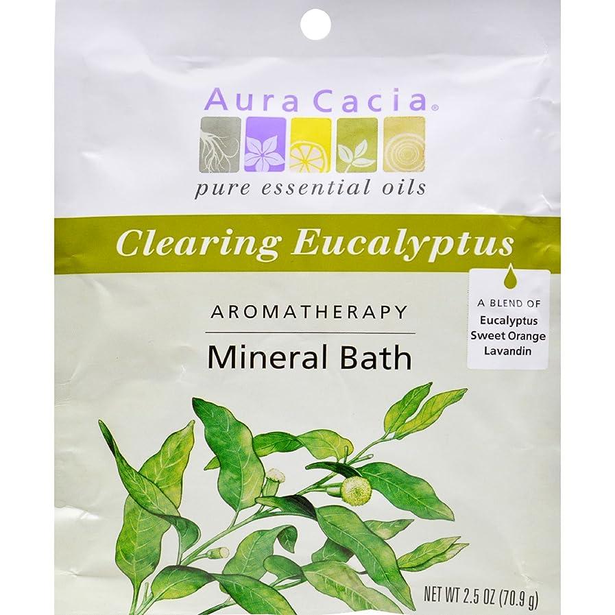 評判スケート彼らのものAura Cacia, Aromatherapy Mineral Bath, Clearing Eucalyptus, 2.5 oz (70.9 g)