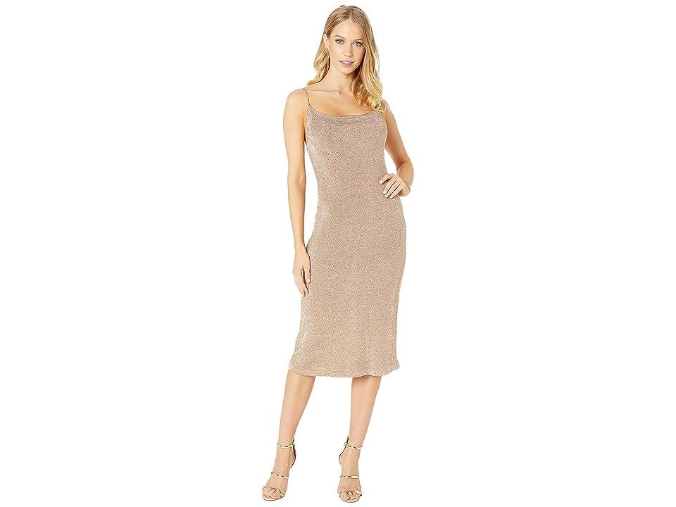 Bardot - Bardot Dani Lurex Knit Dress