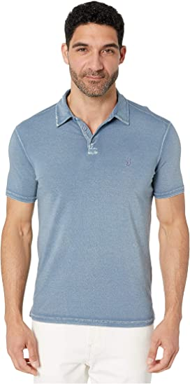 7c3676410 Knoxville Short Sleeve Pigment Rub Peace Polo. John Varvatos Star U.S.A.
