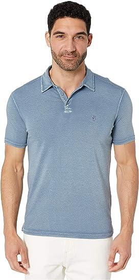 4c06514b Knoxville Short Sleeve Pigment Rub Peace Polo. John Varvatos Star U.S.A.
