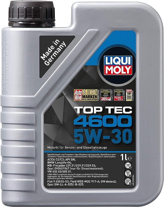 Liqui Moly 3755 Top Tec 4600 5w 30 1 L Auto