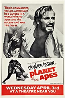 planet of the apes 1968 original poster