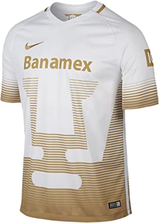 NIKE Men's Pumas 2016 Home Football White/Club Gold Jersey