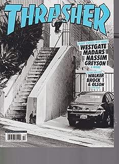 THRASHER MAGAZINE #459 OCT 2018, SKATEBOARDING MAGAZINE W/FREE STICKER, SEALED