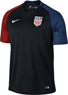 NIKE United States Away Stadium Soccer Jersey (Black)