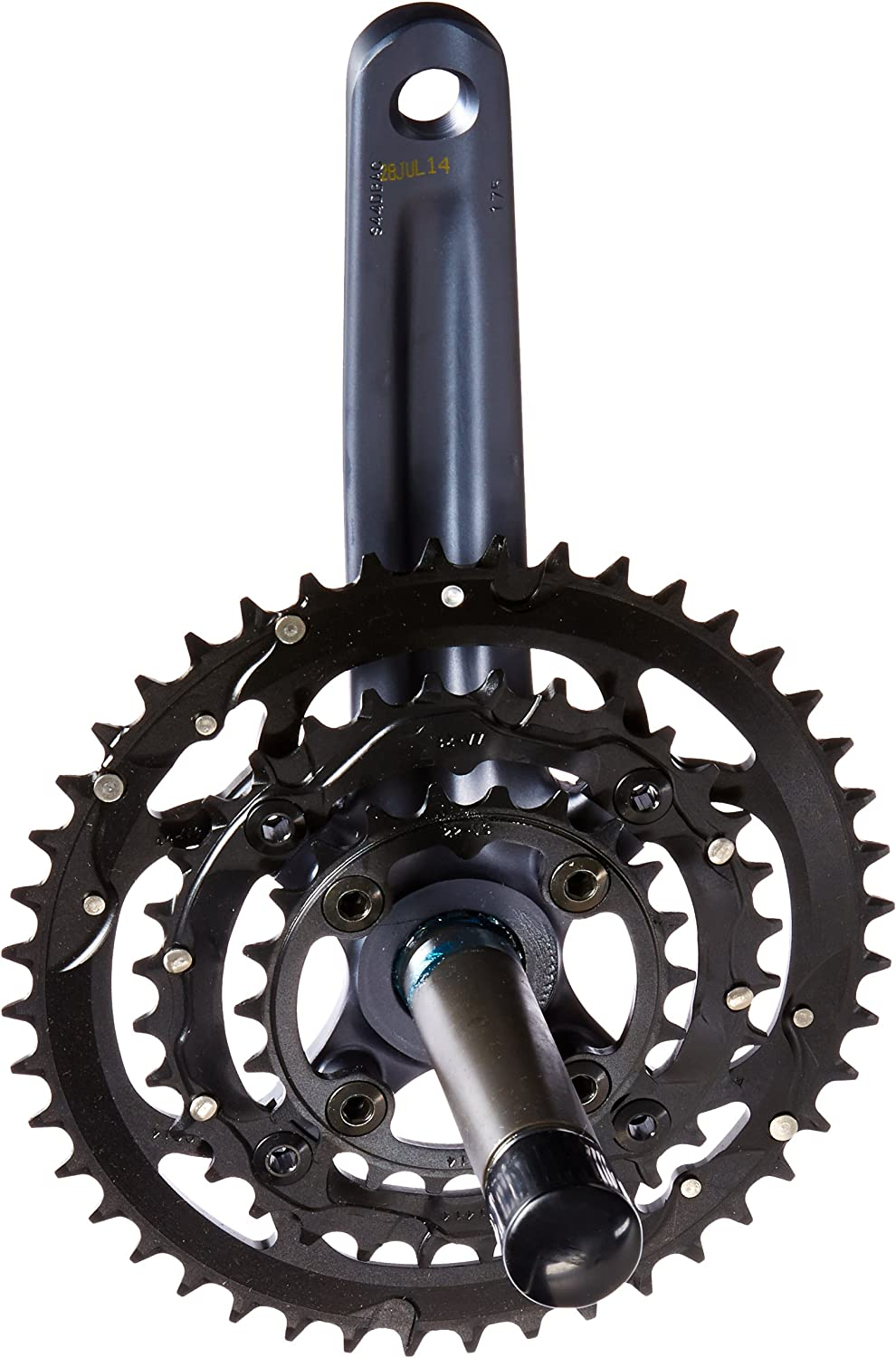 SRAM X.7 GXP Crankset (180mm, 44 32 22T, 9 Speed)