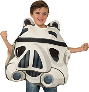 Rubies Costume Co Boys' Angry Birds Star Wars Stormtrooper Angry Bird Costume
