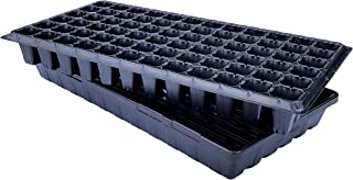 72 Cell w/ 1020 Tray - 5 Pack Combo - Extra Strength Starting Trays for Planting Seedlings, Propagation, Germination Plugs