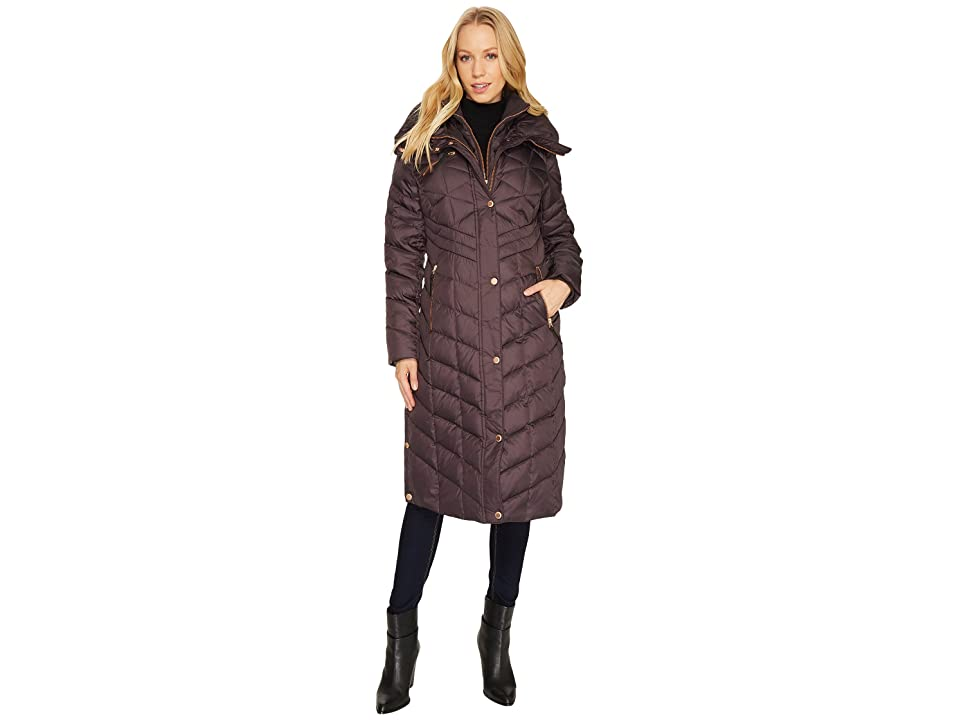 Marc New York by Andrew Marc Melina 42 Matte Down Coat (Gunmetal) Women