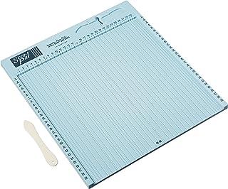 Scor-Pal Metryczna deska do składania, plastikowa, niebieska, 40 x 34,9 x 1,9 cm