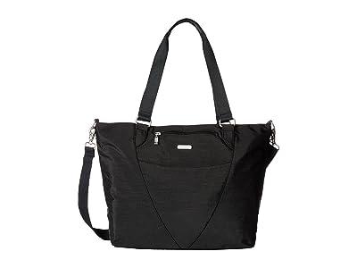 Baggallini Legacy Avenue Tote (Black/Sand) Tote Handbags