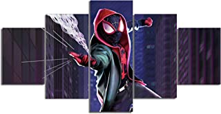 Spiderman Miles Morales Canvas Posters Home Decor Wall Art Framework 3 Pieces Paintings for Living Room HD Prints Movie Pictures