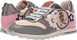 C118 Runner with Mini Vintage Rose Print and Patches