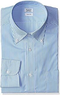 [フェアファクス] ロンドンストライプBDカラーシャツ メンズ 6715