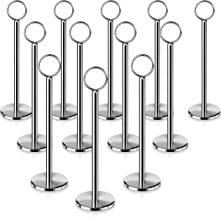 New Star 12 Pc Table Number Holder Table Card Holder Table Number Stand Place Card Holder 8