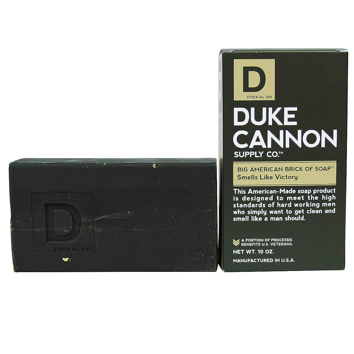 貢献ミュウミュウ変装Duke Cannon Superior Grade Bar Soap, Army Green, Victory, Clean and Fresh Scent, 10 Ounce by Duke Cannon Supply Company [並行輸入品]