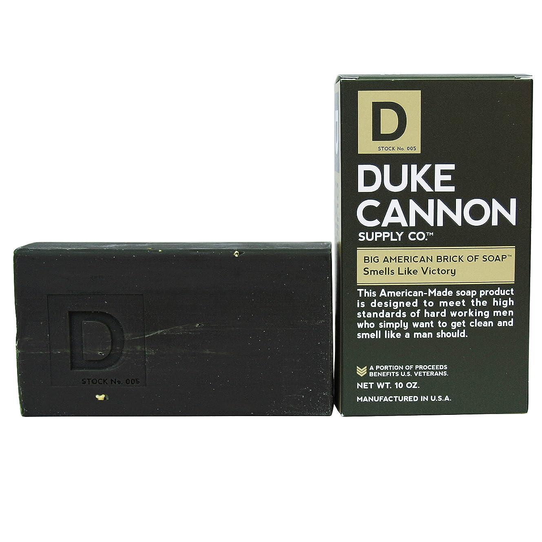 尾橋脚ブラシDuke Cannon Superior Grade Bar Soap, Army Green, Victory, Clean and Fresh Scent, 10 Ounce by Duke Cannon Supply Company [並行輸入品]