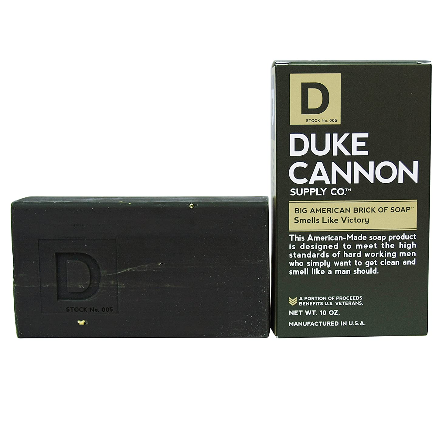相互通貨それるDuke Cannon Superior Grade Bar Soap, Army Green, Victory, Clean and Fresh Scent, 10 Ounce by Duke Cannon Supply Company [並行輸入品]