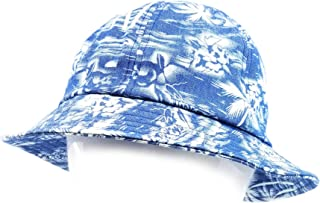 Quality Cotton Fashion Floral Tropical Textile Pattern Bucket Bell Sun Hat Men Women Unisex Packable Cap #5312