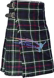 Scottish Mackenzie 8 Yard & 16 Oz Traditional Kilts - Tartan Kilts