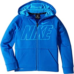 Therma Full Zip Graphic Training Hoodie (Little Kids)