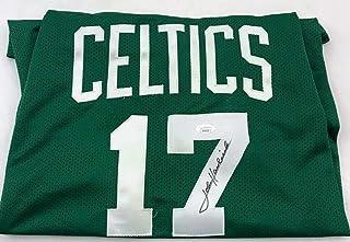 John Havlicek Signed Jersey - Autographed NBA Jerseys