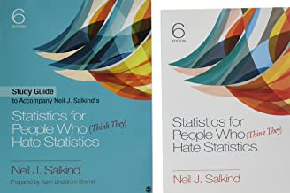 BUNDLE: Salkind: Statistics for People Who (Think They) Hate Statistics 6E + Study Guide to Accompany Neil J. Salkind′s Statistics for People Who ... IBM® SPSS® Statistics v24.0 Student Version