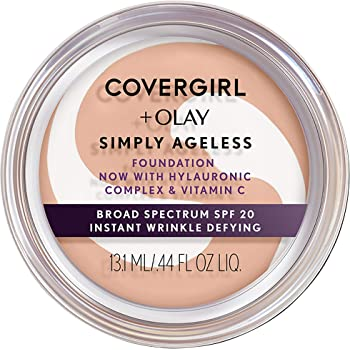 Covergirl & Olay Simply Ageless Instant Wrinkle-Defying Foundation, 210 Classic Ivory