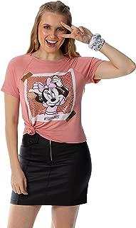 Blusa Manga Curta,Disney,Feminino