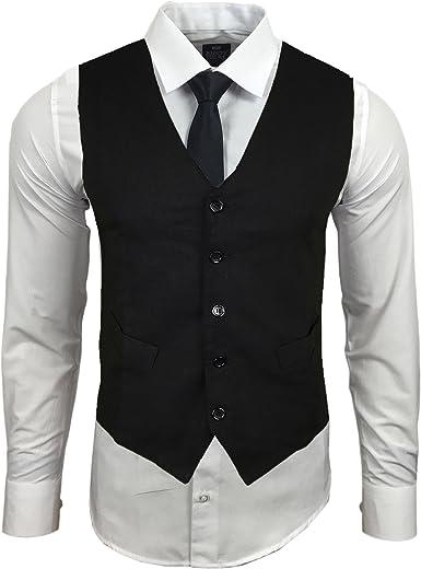 Baxboy Conjunto de fiesta de manga larga – camisa + chaleco + ...