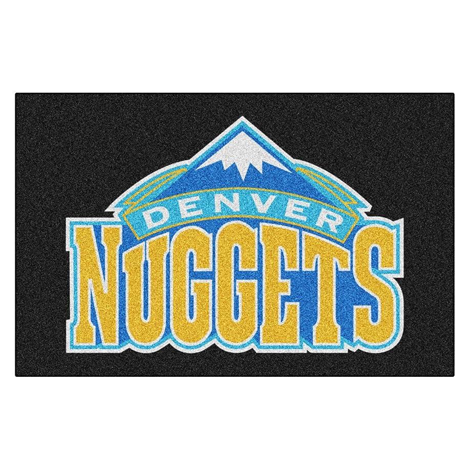 FANMATS NBA Denver Nuggets Nylon Face Starter Rug