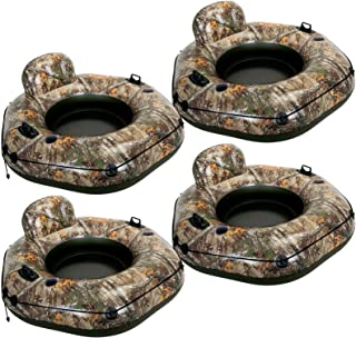 Egoelife Thickening Military Grade Camouflage Pool Float Tube Swimming Ring Tube Pool Toy