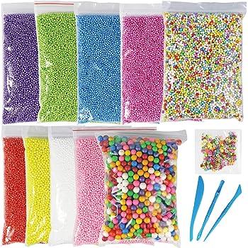 55 Pack Supplies Kit  Custom DIY Craft Homemade Slime Making Accessories Set USA