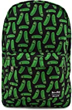 Loungefly Rick & Morty Pickle Rick Character All Over Print Backpack