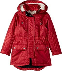 Poly-Twill Anorak with Quilted Lining (Toddler)