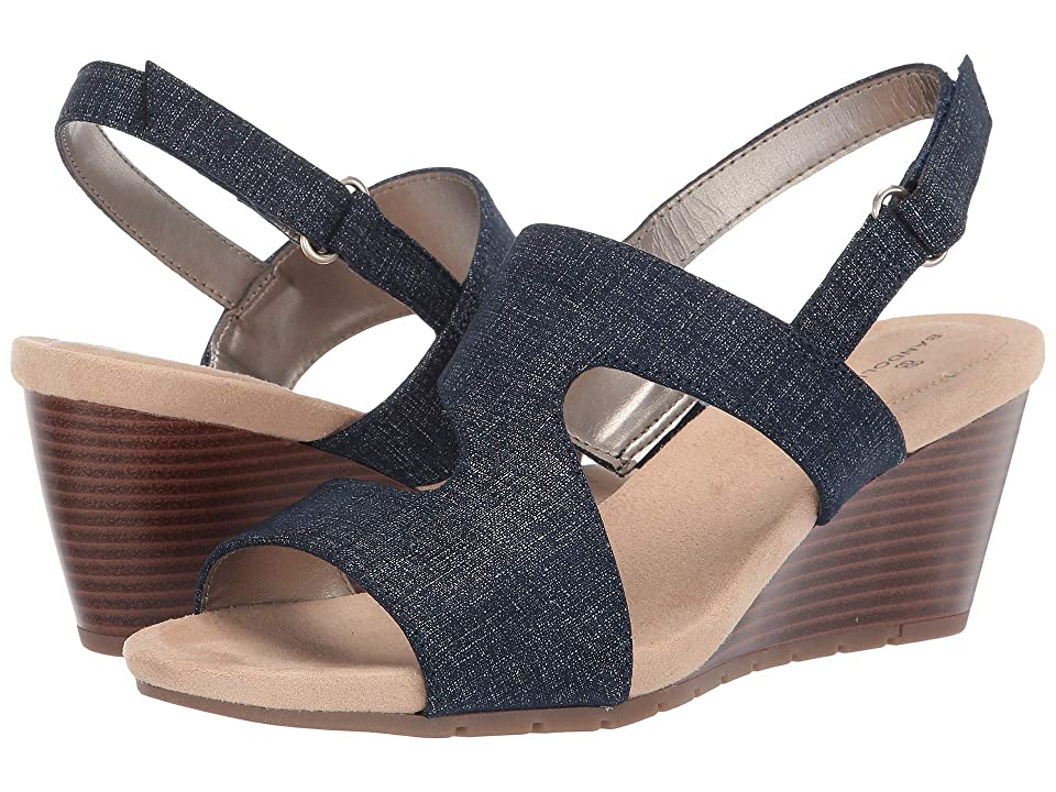 Bandolino Gannett Wedge Sandal (Denim) Women
