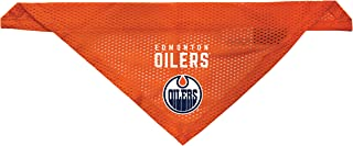 Littlearth Edmonton Oilers Dog Cat Mesh Jersey Bandana Orange L/XL