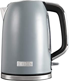 Haden PERTH 1.7 Litre Stainless Steel Electric Kettle with Auto Shut-Off and Boil-Dry Protection in Slate Grey