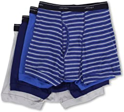 Cotton Full-Rise Boxer Brief 4-Pack