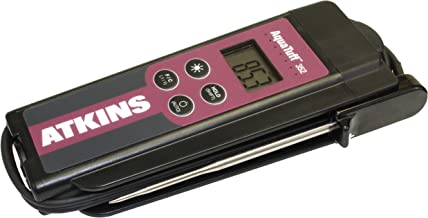 Cooper-Atkins 35232 Series 352 AquaTuff Wrap and Stow Waterproof Thermocouple Instruments with DuraNeedle Probe, -100 to 500 Degrees F Temperature Range