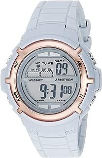 Armitron Sport Unisex 45/7045 Digital Chronograph Resin Strap Watch