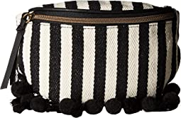 Stripes and Tassel Fanny Pack