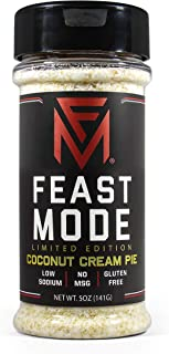 NEW! Coconut Cream Pie - Feast Mode Flavors - Low Sodium , No MSG , Gluten Free , All Natural , Meal Prep Seasoning , Hone...