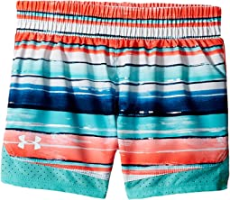 Under Armour Kids Water Stripe Run Shorts (Toddler)