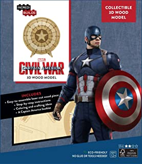 IncrediBuilds: Marvel's Captain America: Civil War 3D Wood Model
