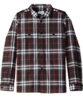 Burberry Kids - Luis Shirt (Little Kids/Big Kids)