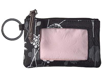 Vera Bradley Lighten Up Zip ID Case (Holland Bouquet) Wallet
