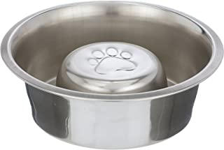 Neater Pet Brands Slow Feed Bowl Stainless Steel - Standard Bowls Fit Elevated Feeders